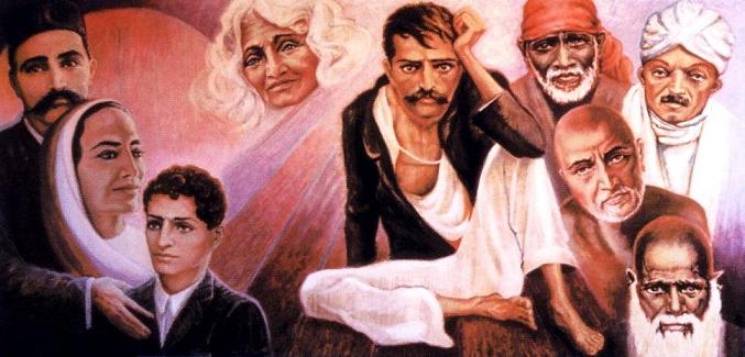 The Five Perfect Masters of Meher Baba - JaiBaba com! Your